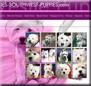 Westies web site design