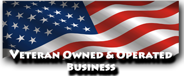 Veteran owned and operated business.